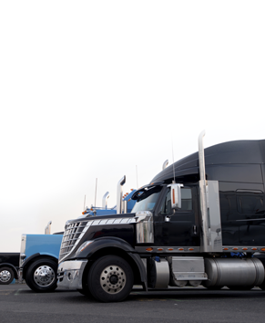 Semis registered with our commercial registration services in Long Beach, CA